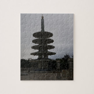 San Francisco Japantown Peace Pagoda #2 Puzzle