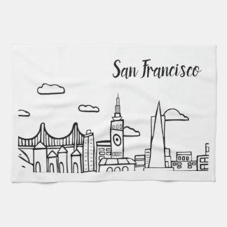 San Francisco Kitchen Dish Towel