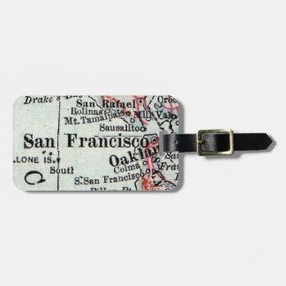 San Francisco Luggage Tag Husband Gift