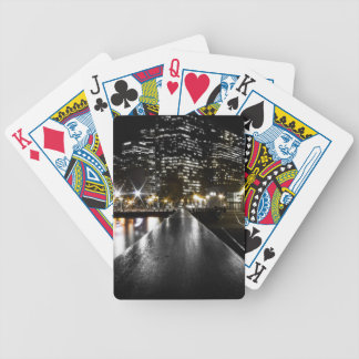 San Francisco Night Bicycle Playing Cards