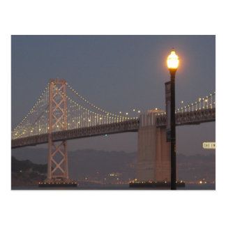 San Francisco Oakland Bay Bridge Post Card