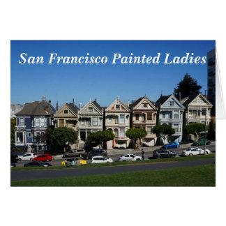 San Francisco Painted Ladies #4 Card