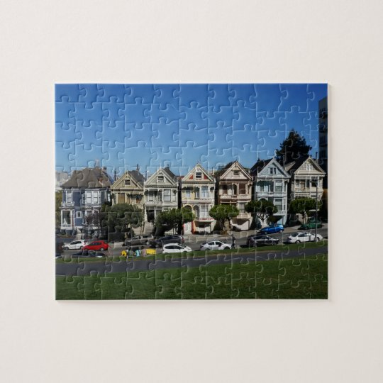 San Francisco Painted Ladies #4 Jigsaw Puzzle