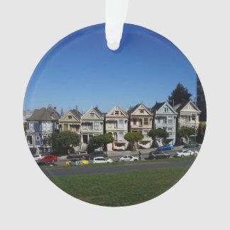 San Francisco Painted Ladies #4 Ornament
