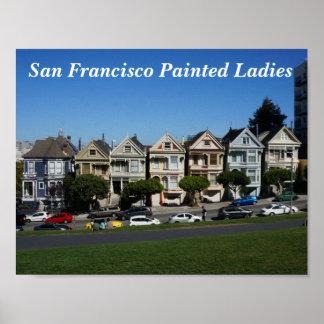 San Francisco Painted Ladies #4 Poster