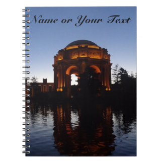 San Francisco Palace of Fine Arts Notebook