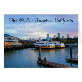 San Francisco Pier 39 #3-3 Card