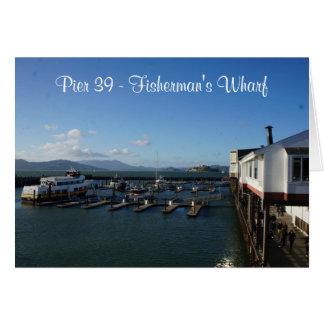 San Francisco Pier 39 #9 Card