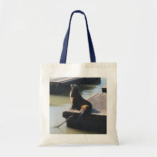 San Francisco Pier 39 Sea Lion #2 Tote Bag