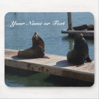 San Francisco Pier 39 Sea Lions #3 Mousepad