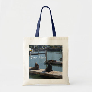 San Francisco Pier 39 Sea Lions #3 Tote Bag