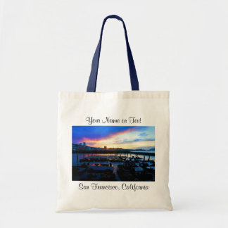 San Francisco Pier 39 Sea Lions #4 Tote Bag