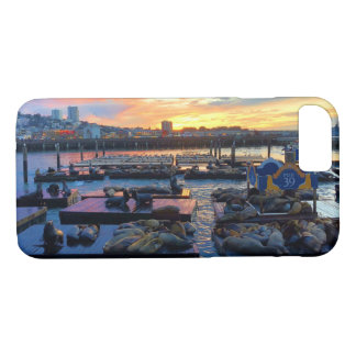 San Francisco Pier 39 Sea Lions #8 iPhone 8/7 Case