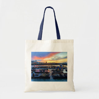San Francisco Pier 39 Sea Lions #8 Tote Bag