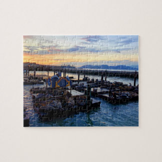 San Francisco Pier 39 Sea Lions #9 Jigsaw Puzzle