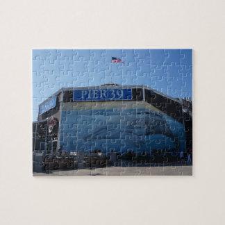 San Francisco Pier 39 Whale Mural Jigsaw Puzzle