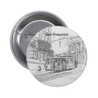 San Francisco Pinback Buttons