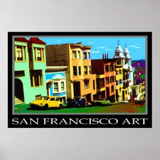 San Francisco Pop Art 69 - Photo Art Poster