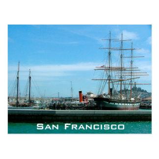 San Francisco Port Postcard
