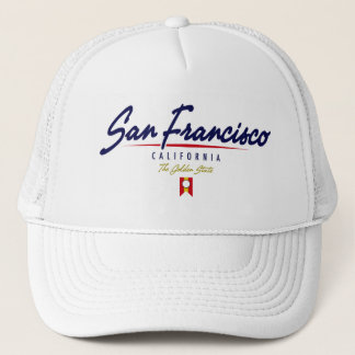San Francisco Script Trucker Hat