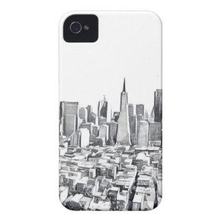 San Francisco SF Citiscape Photograph iPhone 4 Case-Mate Cases
