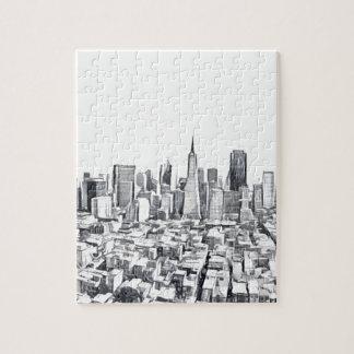 San Francisco SF Citiscape Photograph Puzzles