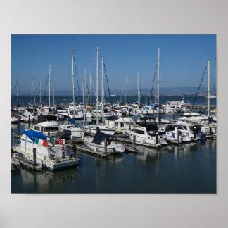 San Francisco Ships #2 Poster