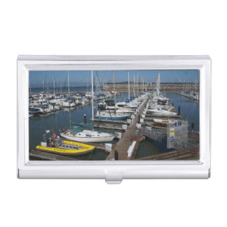 San Francisco Ships Business Card Holder