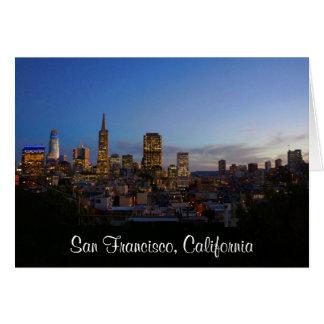 San Francisco Skyline #3 Card