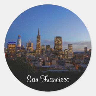 San Francisco Skyline #3 Stickers