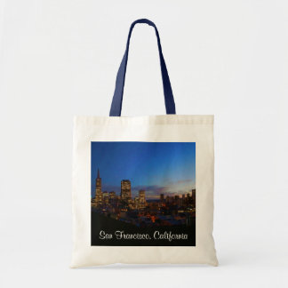 San Francisco Skyline #4 Tote Bag