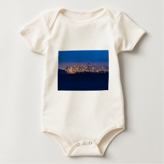 San Francisco Skyline at Dusk Baby Bodysuit