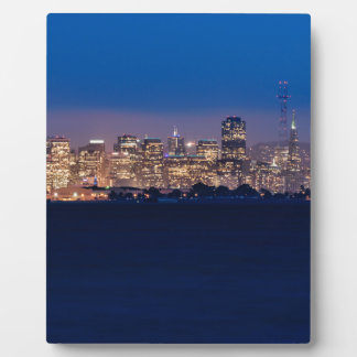 San Francisco Skyline at Dusk Plaques