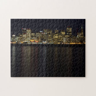 San Francisco Skyline at Night Puzzle