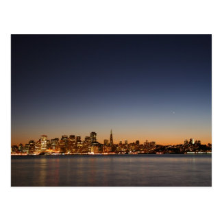 San Francisco Skyline at Sunset Postcard
