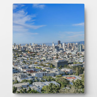 San Francisco Skyline Display Plaques