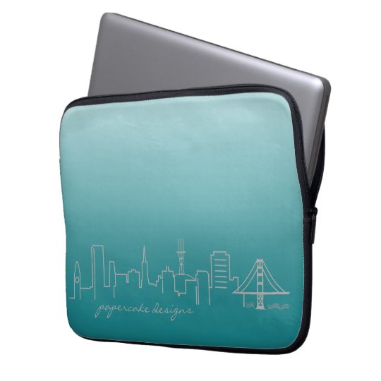 San Francisco Skyline Laptop Sleeve 13 inch