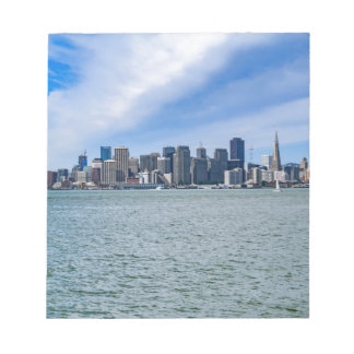 San Francisco Skyline Notepad