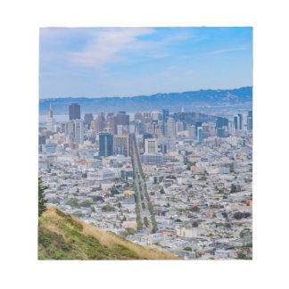 San Francisco Skyline Notepads