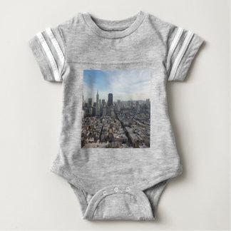 San Francisco Skyline Panorama Baby Bodysuit