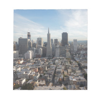 San Francisco Skyline Panorama Notepads