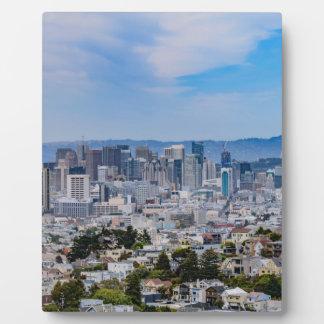 San Francisco Skyline Photo Plaque