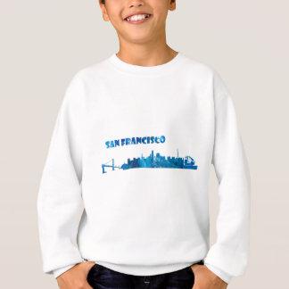 San Francisco Skyline Silhouette Sweatshirt