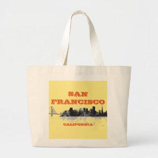 SAN FRANCISCO SKYLINE - Tote bags