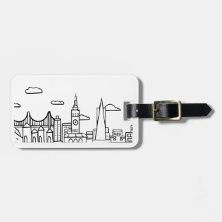 San Francisco Skyline Travel Tag