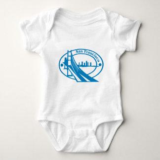 San Francisco Stamp Baby Bodysuit