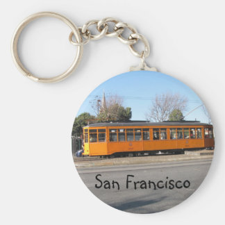 San Francisco Streetcar Key Ring