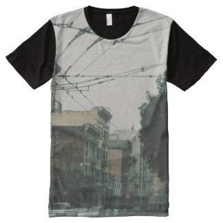 San Francisco Streets All-Over Print T-Shirt
