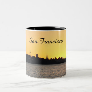 San Francisco Sunset coffee mug