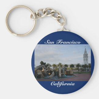 San Francisco The Embarcadero Keychain